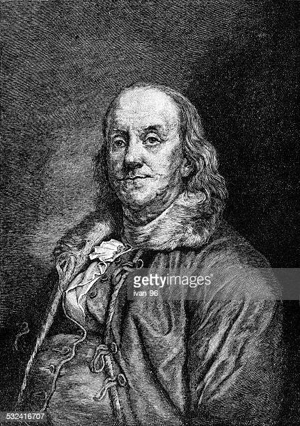 benjamin franklin - benjamin franklin stock illustrations, clip art, cartoons, & icons