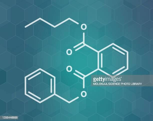 benzyl butyl phthalate, illustration - eczema stock illustrations