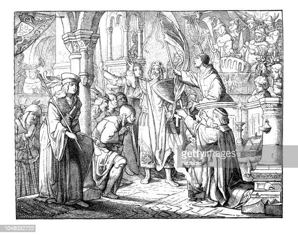 Bernard of Clairvaux calls to the 2nd Crusade