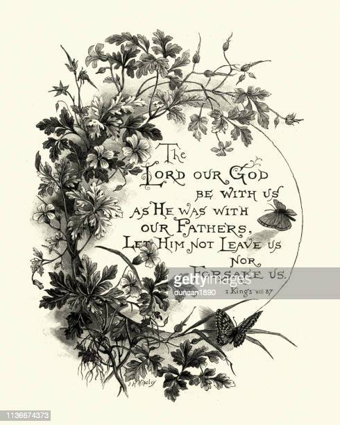 Bible quote, The Lord our God be with us
