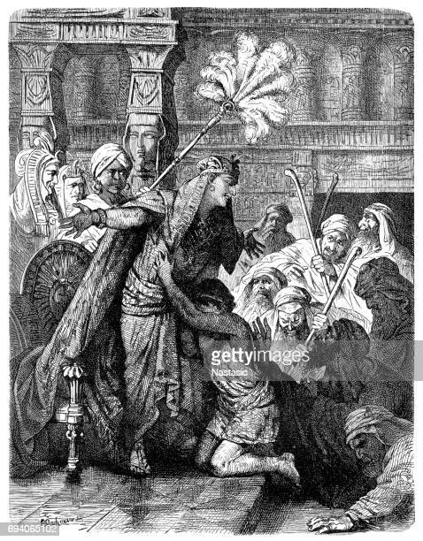 Biblical Scene : Joseph & Brothers in Egypt
