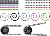 Bicycle Chain Set