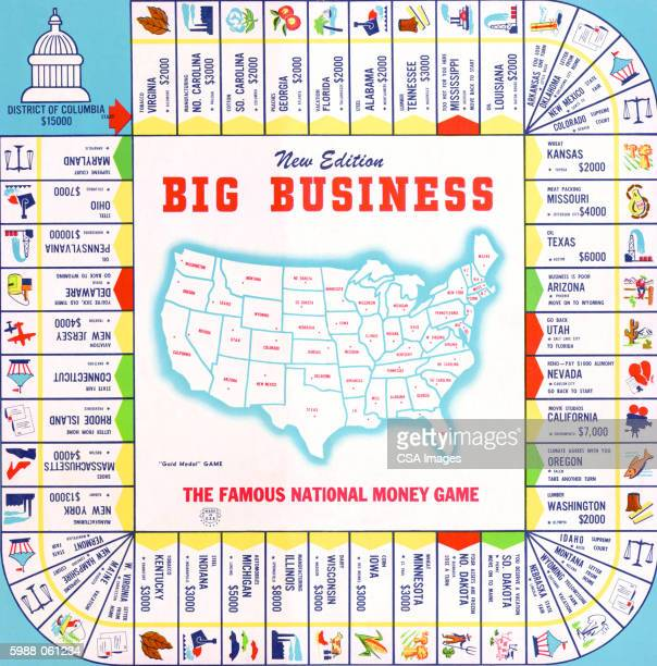 "big business"" board gam - corporate business stock illustrations"