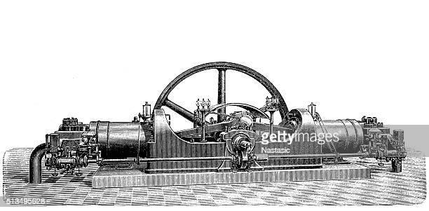 Big Deutzer twin engine
