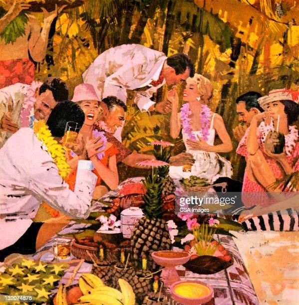 Big Luau Party