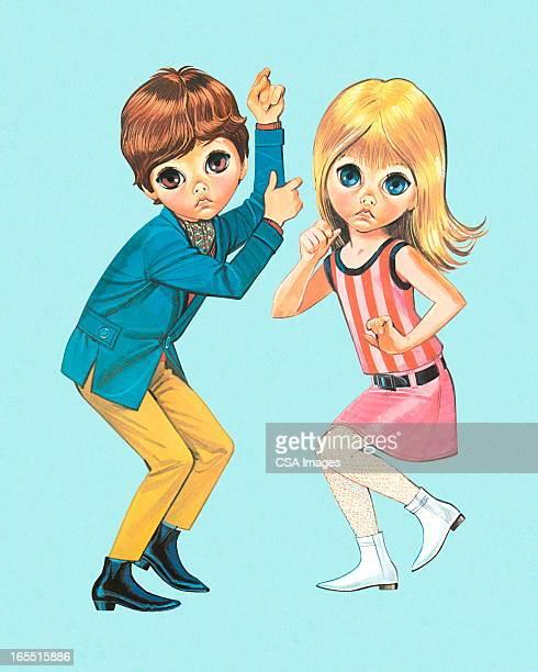 Big-Eyed Kids Dancing
