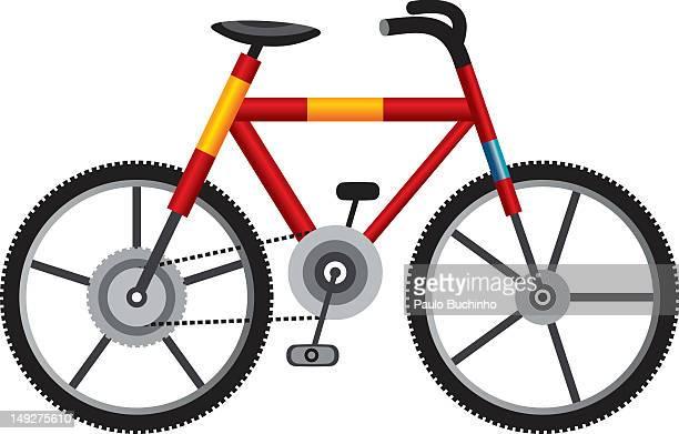 ilustrações de stock, clip art, desenhos animados e ícones de a bike - buchinho
