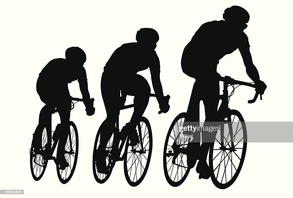 Bicicleta de carreras : Ilustración de stock