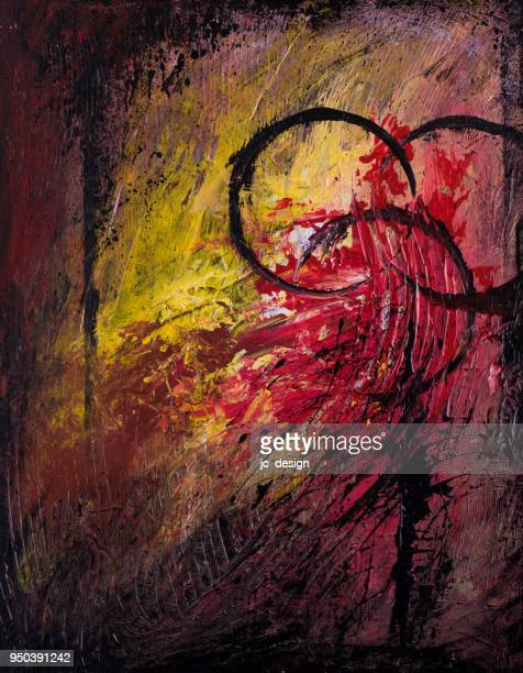 biohazard and destructive background themed abstract painting - rotting stock illustrations, clip art, cartoons, & icons