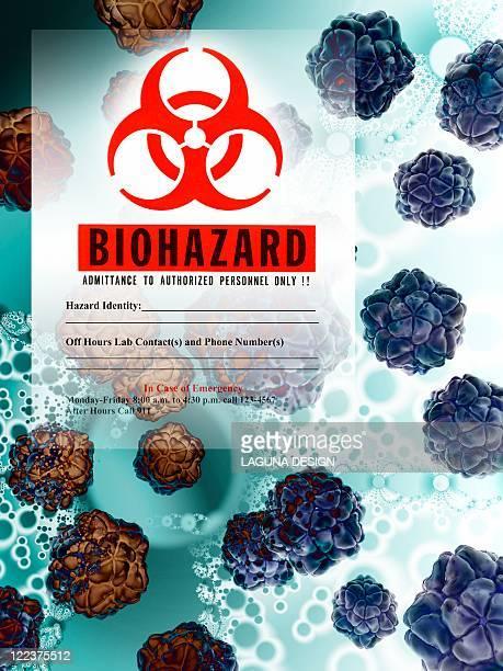 ilustraciones, imágenes clip art, dibujos animados e iconos de stock de biohazard, conceptual artwork - arma biológica