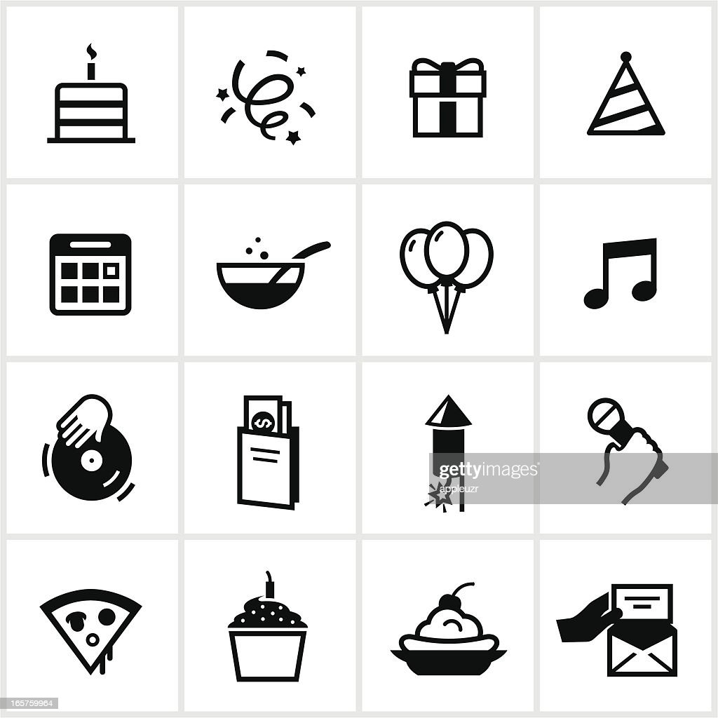 Birthday & Party Icons