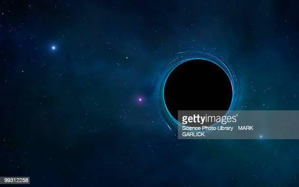 black hole, artwork - black hole stock illustrations