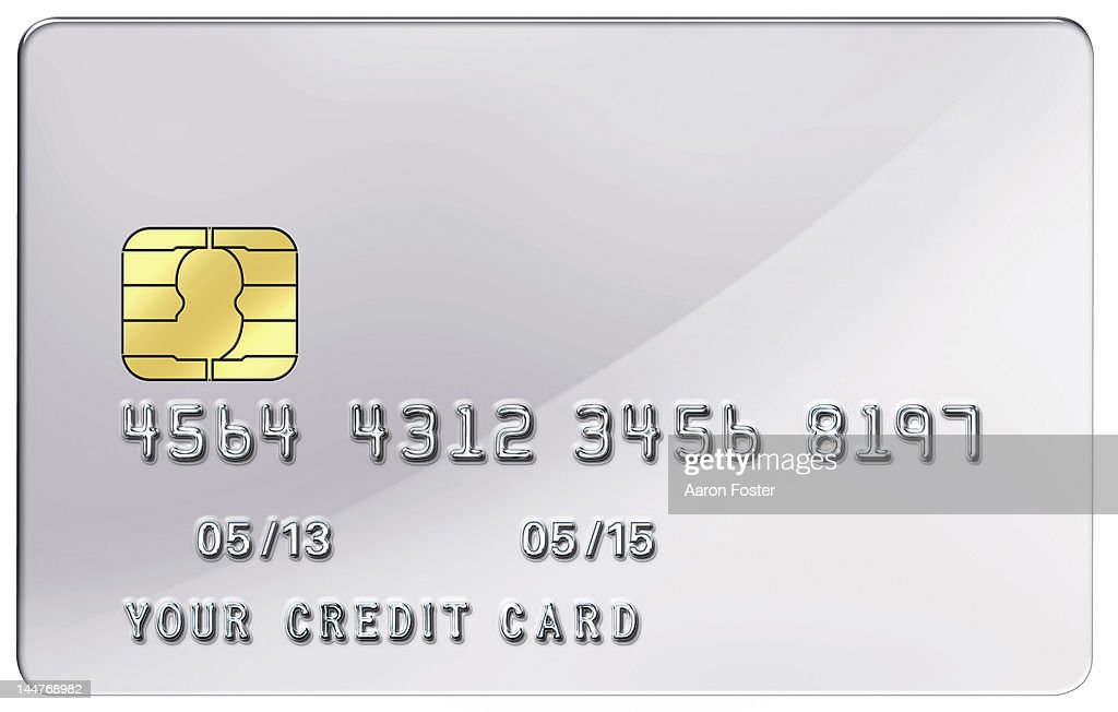 blank credit card stock illustration getty images
