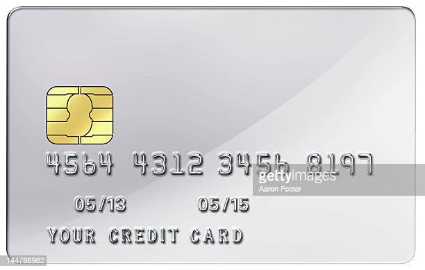 blank credit card - credit card stock illustrations