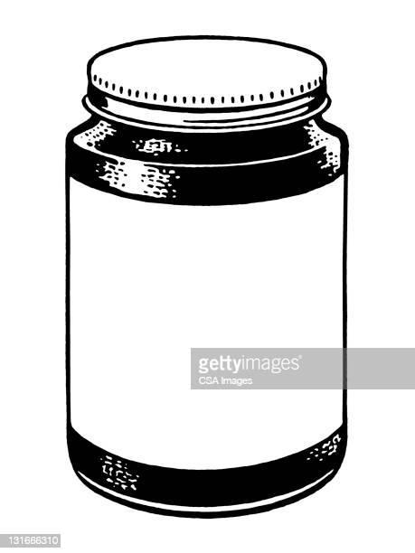 blank jar - jar stock illustrations