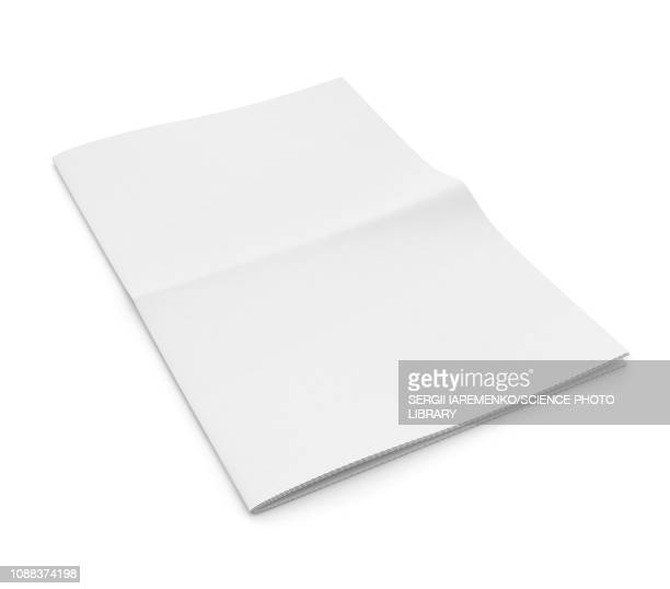 blank newspaper, illustration - no people stock illustrations