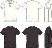 Blank polo t-shirt