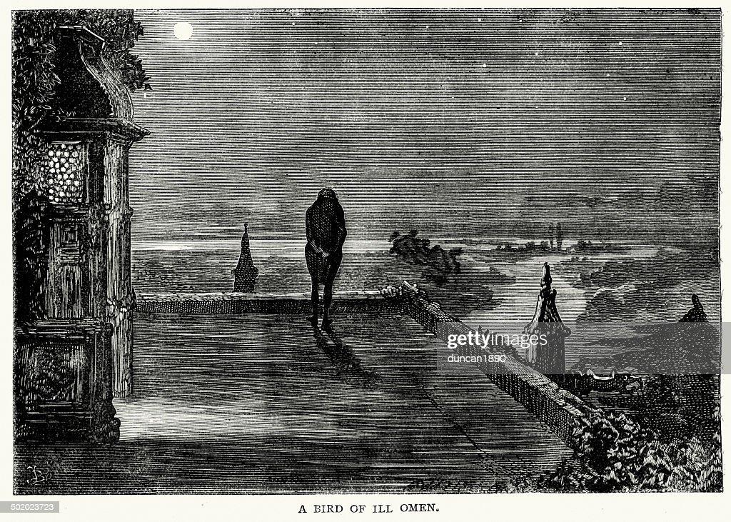 Bleak House by Charles Dickens : stock illustration