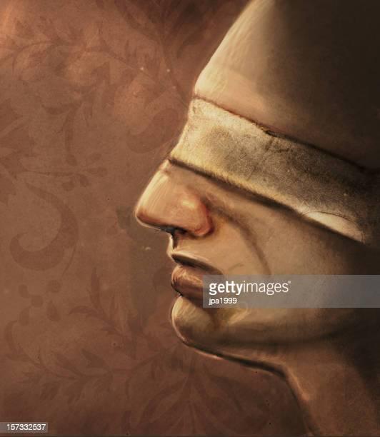 ilustraciones, imágenes clip art, dibujos animados e iconos de stock de blindfolded - ojos tapados