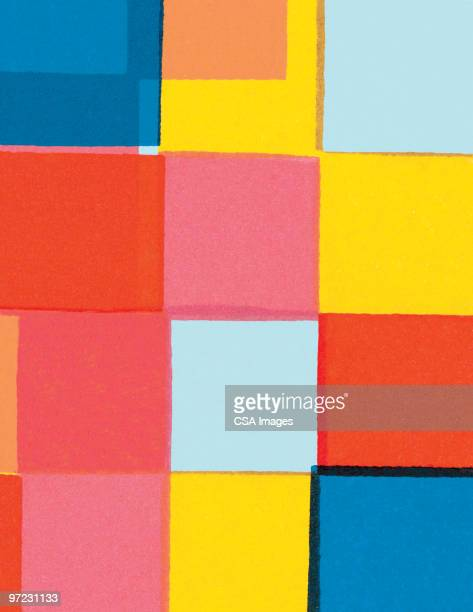 blocks abstraction - angle stock illustrations