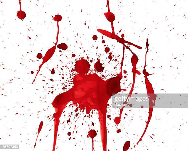 blood dripping - human blood stock illustrations, clip art, cartoons, & icons