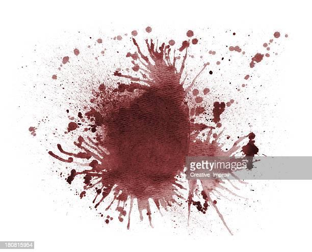 血液スプラター - 血しぶき点のイラスト素材/クリップアート素材/マンガ素材/アイコン素材