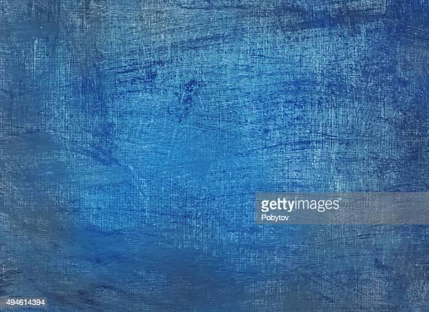 blue grunge painted background
