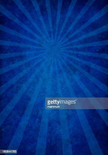blue grunge texture with sunrays