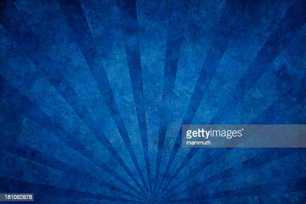 blue grunge texture with sunrays - run down stock illustrations, clip art, cartoons, & icons
