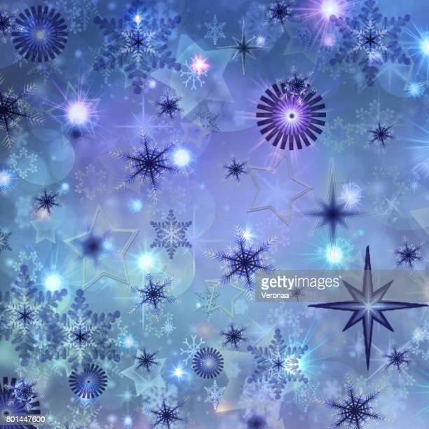 blue holidays background - glühend stock illustrations