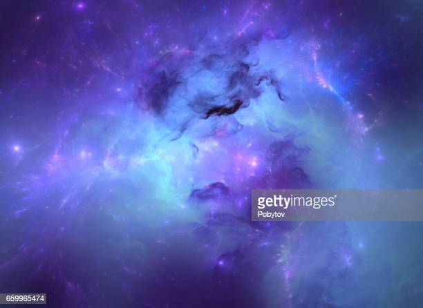 blue nebula - spirituality stock illustrations, clip art, cartoons, & icons