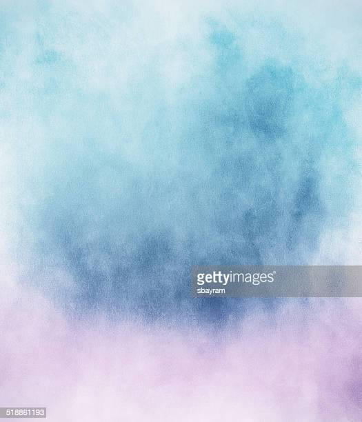 blue pink fog - fantasy stock illustrations