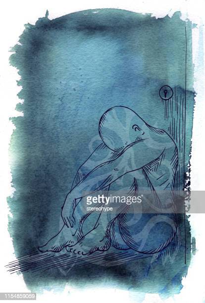 blue state illustration