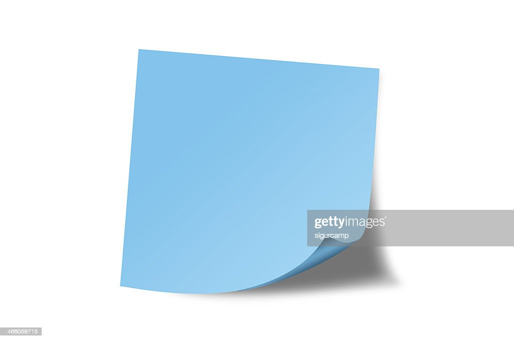 free post it note blue images pictures and royaltyfree