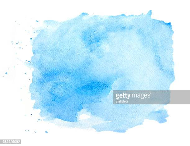 Blue textured watercolor background