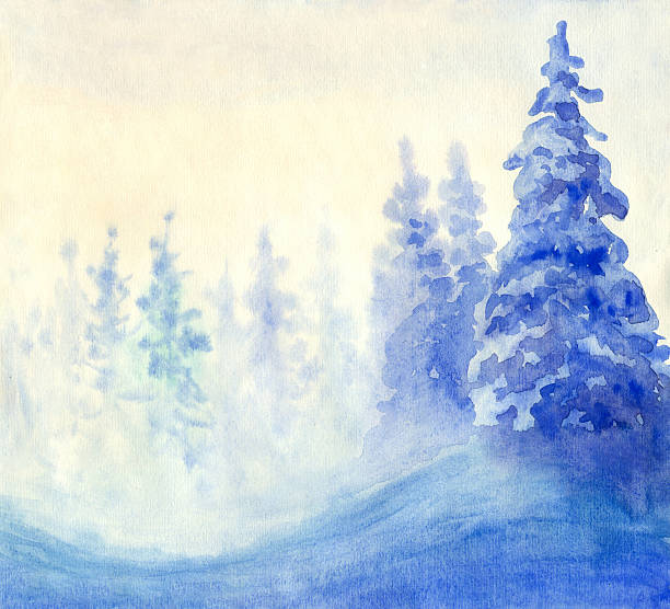 Blue Winter Wall Art