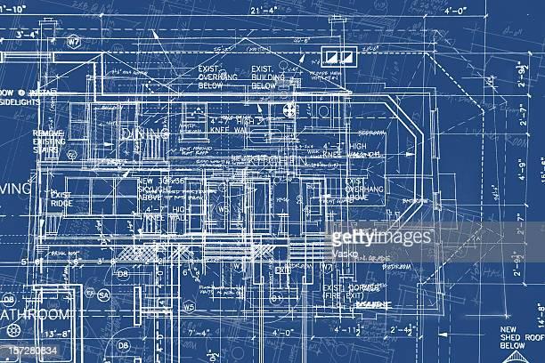 illustrazioni stock, clip art, cartoni animati e icone di tendenza di cianografie-caos delle linee iii - cianografia