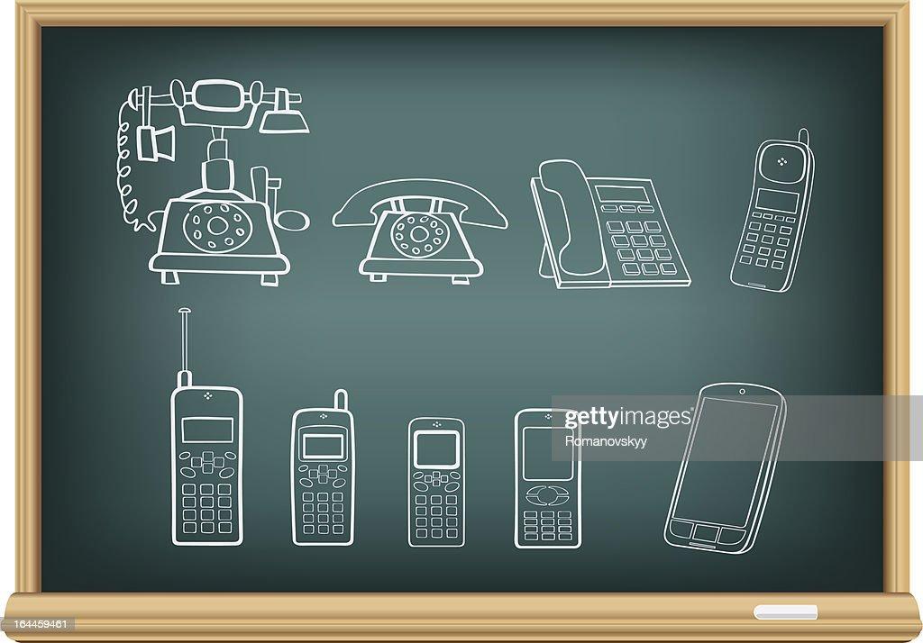 board phone evolution