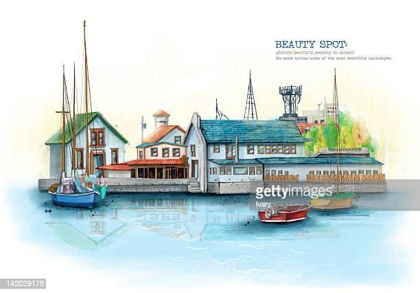 Boat At Harbor