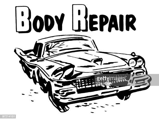 body Repair and Damaged Automobile