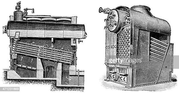 boiler - boiler stock illustrations, clip art, cartoons, & icons
