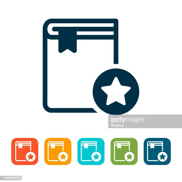 book icon. online education concept - enciclopedia stock illustrations, clip art, cartoons, & icons