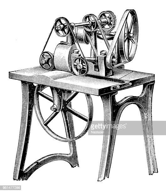 Bookbinding machines ,Leather hood maker