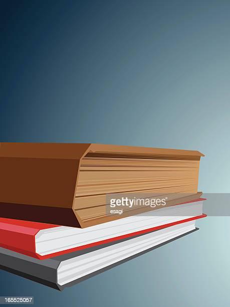 ilustrações, clipart, desenhos animados e ícones de livros - livro de capa dura