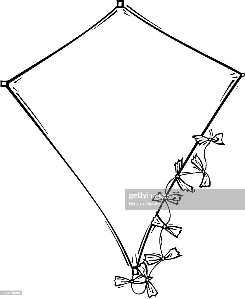 Border Kite Vector Art Getty Images Diagram