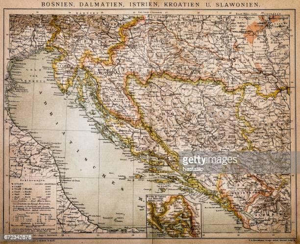 Bosnia, dalmatia, istria, croatia, slavonia