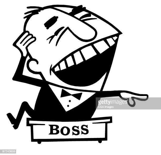 boss - tied up stock illustrations