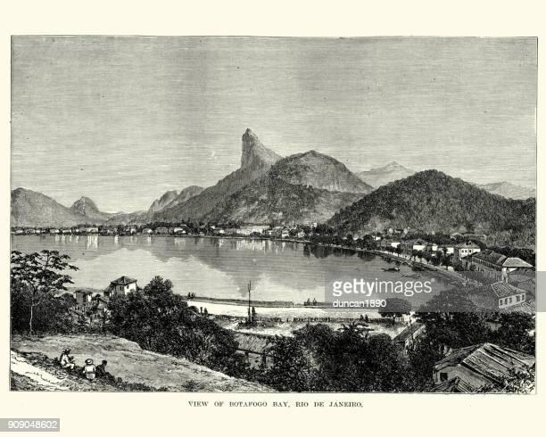 Botafogo Bay, Rio De Janeiro, Brazil 19th Century