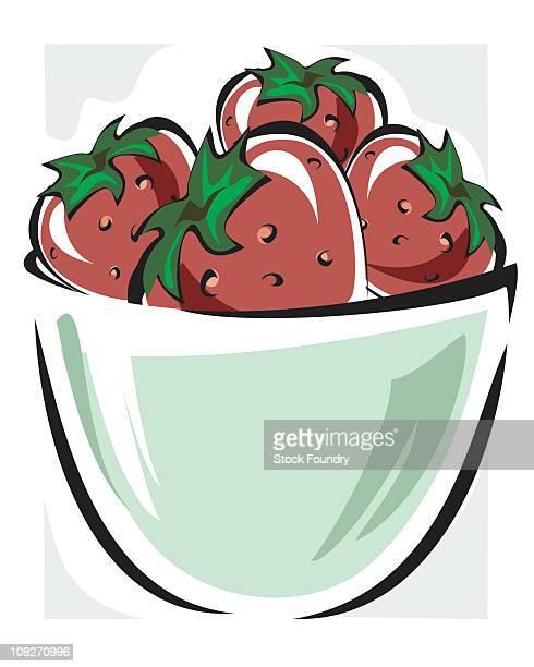Fruit Bowl Premium Stock Illustrations - Getty Images  Cute