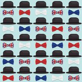 bowler hats and bow ties